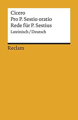 9783150068885: Rede für P. Sestius