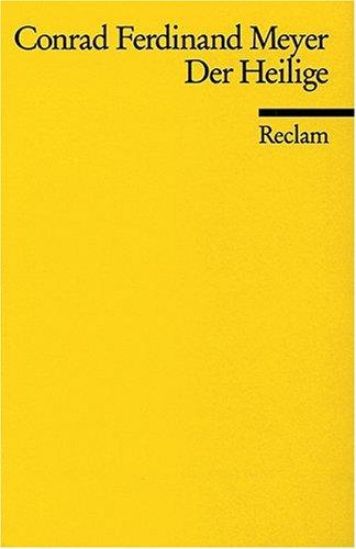 9783150069486: Der Heilige (German Edition)