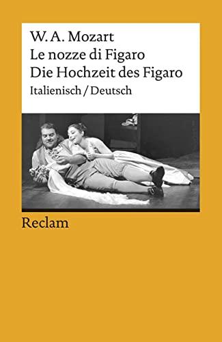 9783150074534: Die Hochzeit des Figaro / Le nozze di Figaro