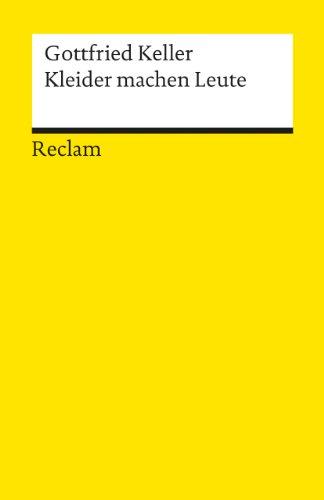 9783150074701: Kleider Machen Leute (German Edition)