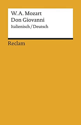 9783150074817: Don Giovanni.
