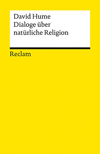 9783150076927: Dialoge über natürliche Religion