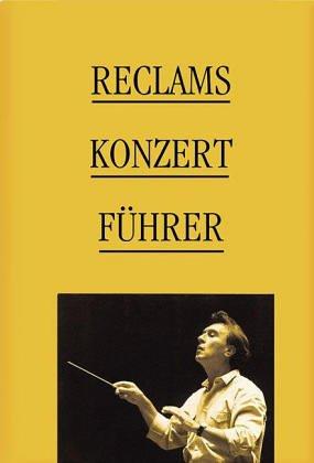 Reclams Konzertfuhrer: Orchestermusik (Universal-Bibliothek) (German Edition): Renner, Hans