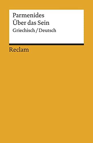 9783150077399: Uber das Sein: Griechisch-Deutsch (Universal-Bibliothek) (German Edition)