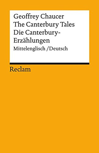 9783150077443: Die Canterbury - Erzählungen