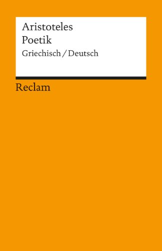 9783150078280: Poetik (German and Ancient Greek Edition)