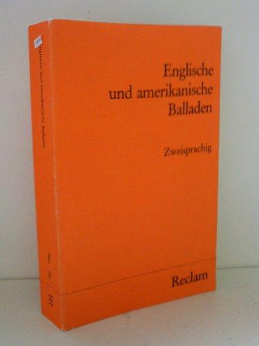 9783150078426: Englische und amerikanische Balladen. Zweisprachig