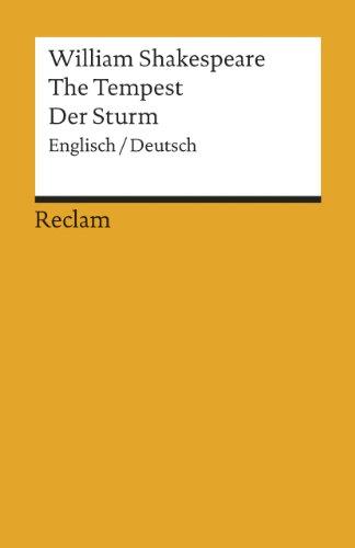 9783150079034: Der Sturm. (englisch / deutsch)