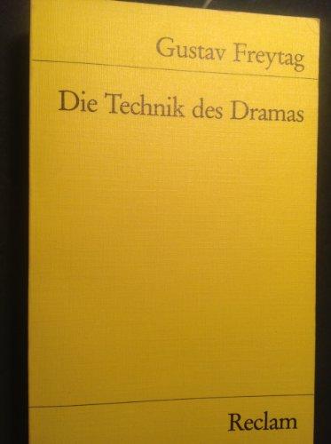 9783150079225: Die Technik des Dramas