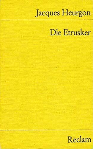 9783150079898: Die Etrusker.