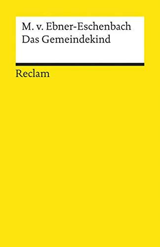 9783150080566: Das Gemeindekind. Roman.