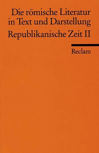 Die Römische Literatur In Text Und Darstellung: Hrsg. V. Leeman,