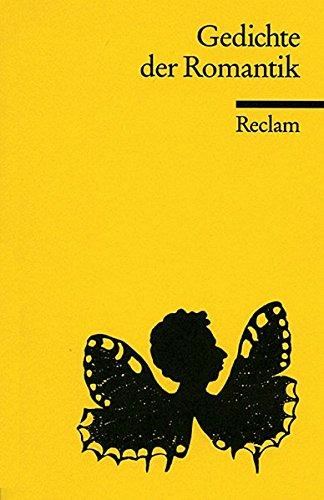 Gedichte der Romantik.: Wolfgang Frühwald