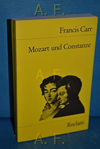 9783150082805: Mozart und Constanze.