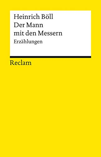 9783150082874: Der Mann mit den Messern: Erzählungen (Universal-Bibliothek, Nr. 8287) (German Edition)