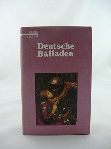 9783150085028: Deutsche Balladen