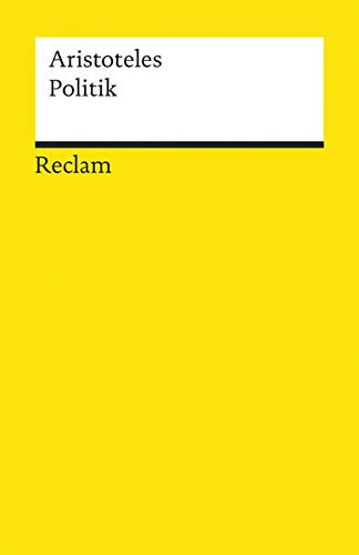 9783150085226: Politik: Schriften zur Staatstheorie