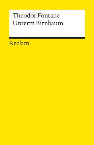9783150085776: Unterm Birnbaum