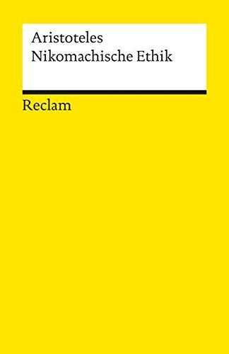 9783150085868: Nikomachische Ethik (Universal-Bibliothek) (German Edition)