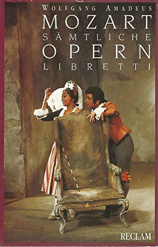 9783150086599: Sämtliche Opernlibretti