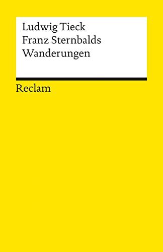 9783150087152: Franz Sternbald's Wanderungen (German Edition)