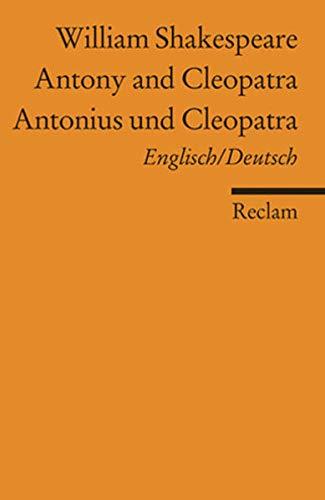 9783150088302: Antonius und Cleopatra / Antony and Cleopatra
