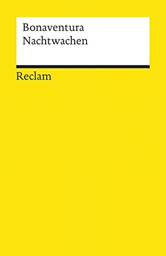 9783150089262: Nachtwachen (Universal-Bibliothek ; Nr. 8926/27) (German Edition)