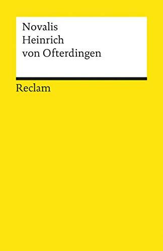 9783150089392: Heinrich Von Ofterdingen (German Edition)