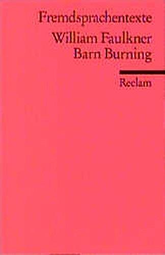 9783150090435: Barn Burning
