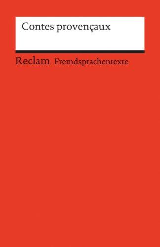 9783150090527: Contes provencaux