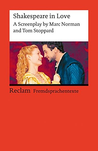 9783150090725: Shakespeare in Love. A Screenplay. (Lernmaterialien)