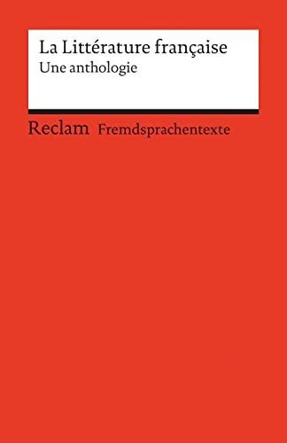 9783150090862: La Litterature francaise.