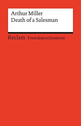 9783150091722: Death of a Salesman: Englischer Text mit deutschen Worterklärungen. B2-C1 (GER)