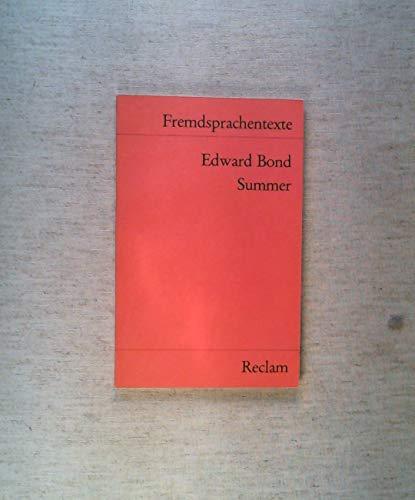 9783150091975: Summer. (Fremdsprachentexte)