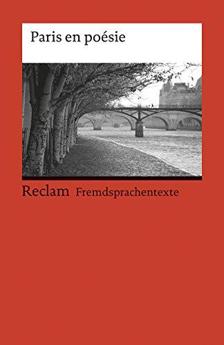 9783150092460: Paris en poesie