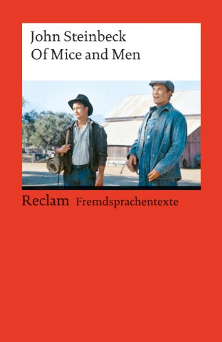 9783150092538: Of Mice and Men. ( Fremdsprachentexte). (Lernmaterialien)