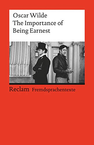 9783150092675: The Importance of Being Earnest: A Trivial Comedy for Serious People
