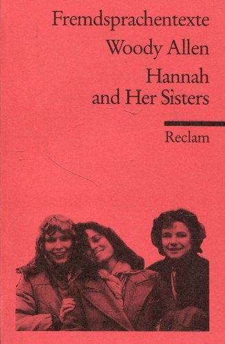 9783150092774: Hannah and Her Sisters