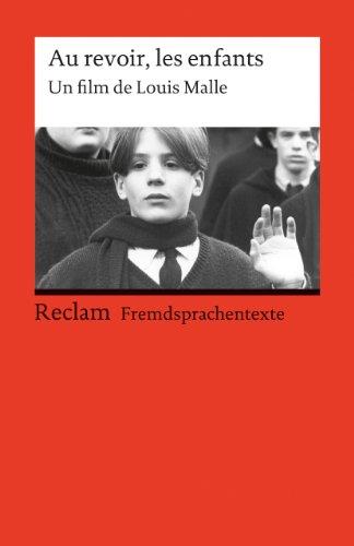 Au revoir, les enfants: Un film de: Ader, Wolfgang und
