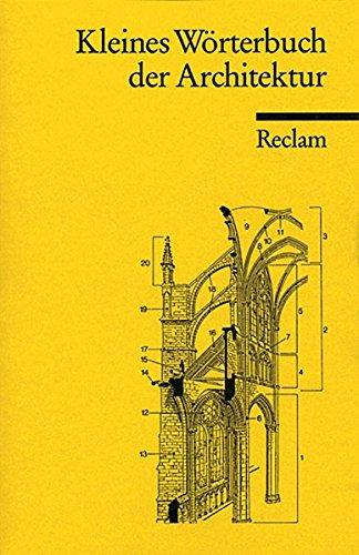 9783150093603: Kleines Wörterbuch der Architektur