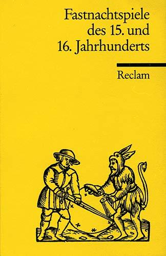 Fastnachtsspiele des 15. und 16. Jahrhunderts: Bobrowski, Johannes