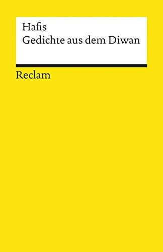 9783150094204: Gedichte aus dem Diwan.