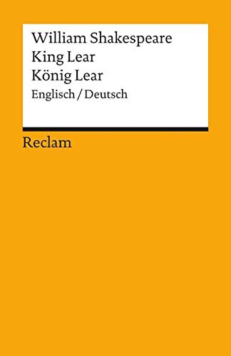 König Lear / King Lear: Shakespeare, William -