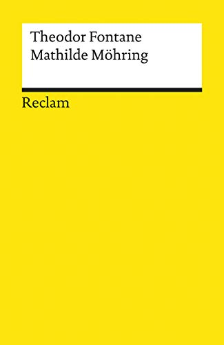9783150094877: Mathilde Mohring (Universal-Bibliothek ; Nr. 9487-88) (German Edition)
