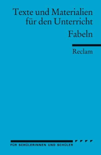9783150095195: Fabeln