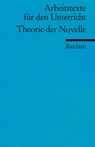 Theorie der Novelle