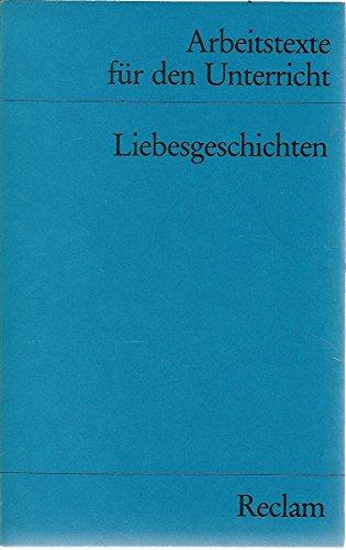 9783150095737: Liebesgeschichten