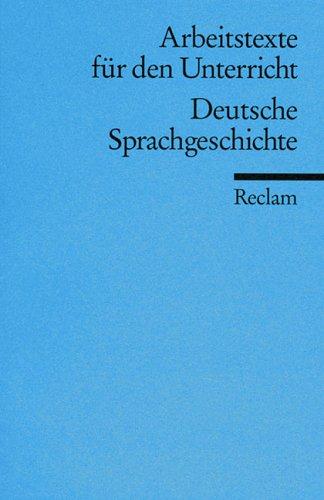 Deutsche Sprachgeschichte: Wolff, Gerhart
