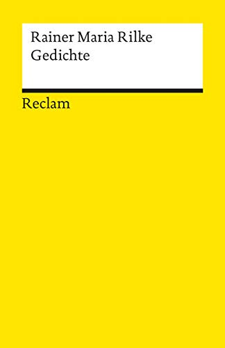 Rilke gedichte reclam