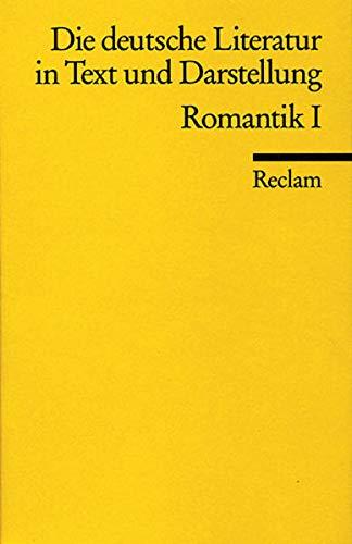 Die Deutsche Literatur in Text Und Darstellung: Hans-Jürgen. Schmitt
